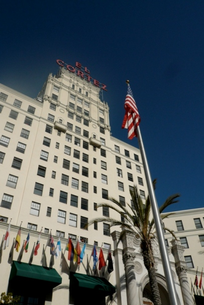 The legendary El Cortez Hotel (photo courtesy of Wendy All)