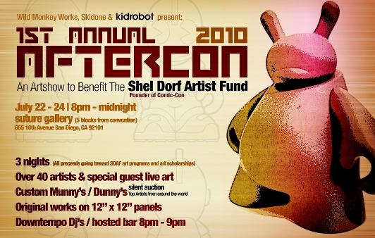 Preliminary Flier for the 2010 Shel Dorf Fund Benefit Art Show
