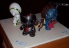 Munnys by Ari Wells, Jeff Ranjo (black robot), and Lauren Trottlier (Avatar)