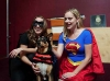 Super heroines visit the show