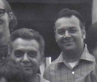 Jack Kirby and Shel Dorf - November 9, 1969